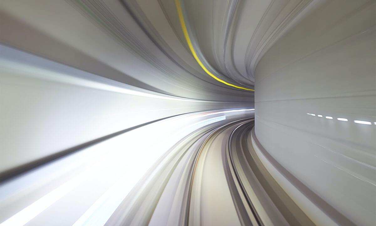 Sfeerbeeld van een tunnel