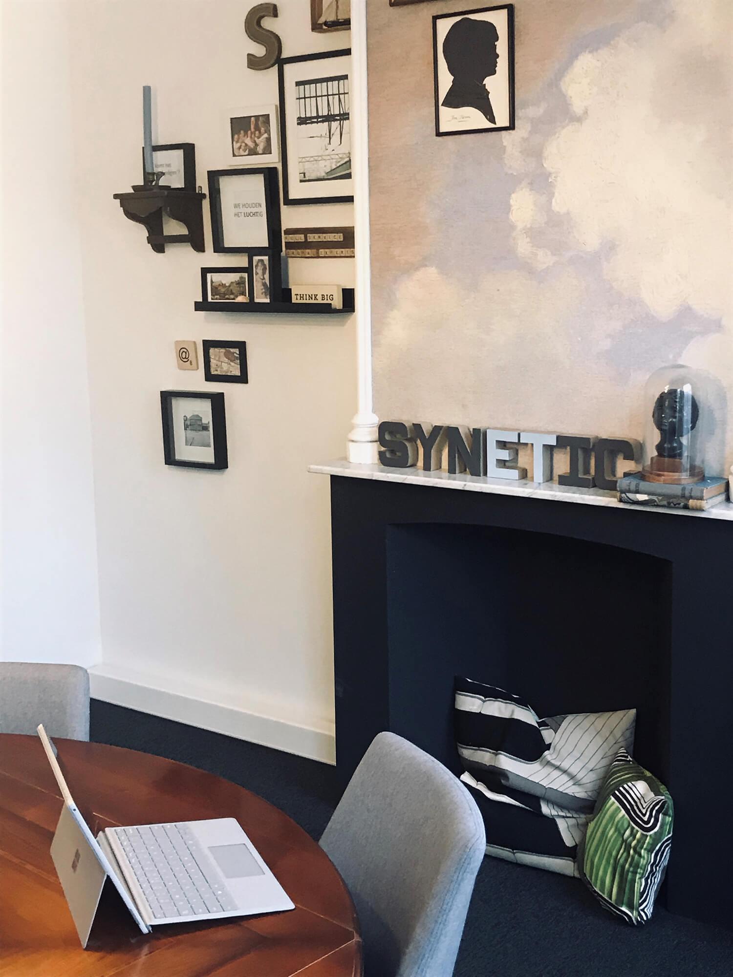 Foto van kantoorruimte binnen Synetic